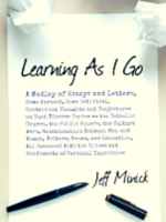 Learning As I Go, Jeff Minick, blog, book,